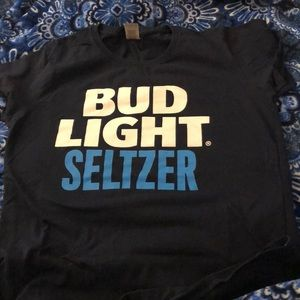 Navy Bud Light Seltzer Tee